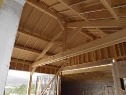 terrasse suspendue en bois maison ossature bois avec terrasse suspendue à rochefort en