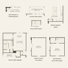 Avalon Floor Plan by Compton At Avalon In Pflugerville Texas Pulte