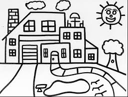 unbelievable tree house coloring pages haunted with haunted house