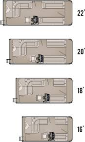 Pontoon Boat Floor Plans by 2014 Gt Cruise Tahoe Pontoon Boats