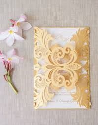wedding invitations gold best 25 gold wedding invitations ideas on gold