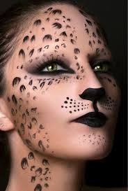 cute halloween cat makeup cat feline tiger makeup halloween youtube