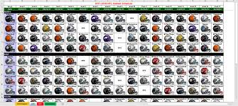 Help With Excel Spreadsheets by Excel Spreadsheets Help 2017 Nfl Helmet Schedule Spreadsheet
