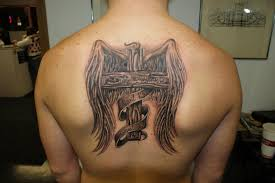cross and angel wings tattoo design idea cross and angel wings