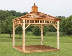 Free Plans For Round Wood Picnic Table by 110 Gazebo Designs U0026 Ideas Wood Vinyl Octagon Rectangle And More