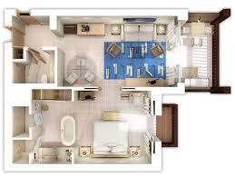 floor plan 3d design suite the westin resort costa navarino family suites