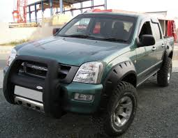 isuzu dmax lifted wide fender flares wheel arches for isuzu d max chevrolet holden