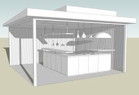 cuisine exterieure cuisine extérieur design produit avec paysage interieur exterieur à