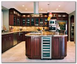 glass front kitchen cabinets doors cabinet home design ideas
