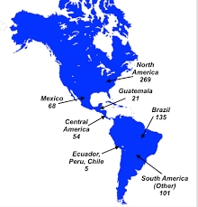 Map Of Mexico And Central America And South America by Nephicode Why Are Native American Languages So Diverse If They