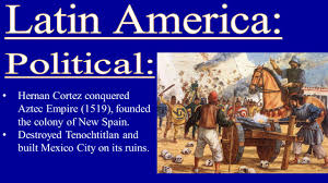 the americas in the early colonial period hernan cortez