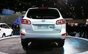 hyundai santa fe car price cars hyundai santa fe 2wd luxury car stands for style