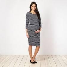 herring maternity herring maternity navy lace textured maternity dress at