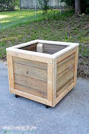 diy planter box i should be mopping the floor diy planter box with wheels
