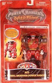 power rangers wild force deluxe edition red gorilla primal morphin