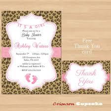 free printable leopard baby shower invitation u2013 orderecigsjuice info