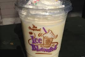We Tasted It Coffee Bean U0027s Birthday Cake Ice Blended Huffpost