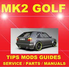 dedicated vw mk2 golf rabbit gl gti 8v 16v modifica
