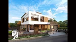 modern bungalow designs 3d renderings youtube