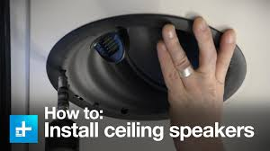 Top Rated Ceiling Speakers by How To Install In Ceiling Speakers With The Golden Ear Invisa Htr