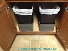 kitchen cabinet garbage can kitchen garbage cans pros cons of the varieties