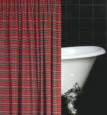 what is tartan plaid scottish shower curtain ancient shower curtain vintage castle print