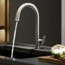 electronic kitchen faucet kohler k 72218 vs sensate touchless kitchen faucet vibrant