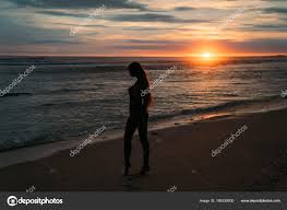 how long does it take for mail to travel images Silhouette of pretty woman side view beautiful young girl with jpg