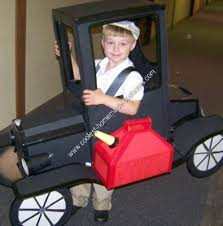 Halloween Costumes Cars Homemade Model Car Halloween Costume Halloween Costume