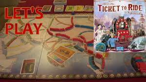 Asia Map Game by Let U0027s Play Board Games 8 Ticket To Ride Asia Youtube