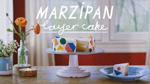 recipe marzipan layer cake kitchn