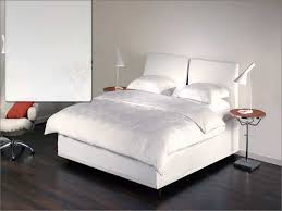 bedroom nice bianca white modern bed with tufted headboard king