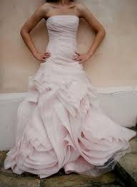 designer wedding dresses vera wang pale pink wedding dress vera wang naf dresses