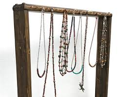 necklace display stand images Necklace display etsy jpg