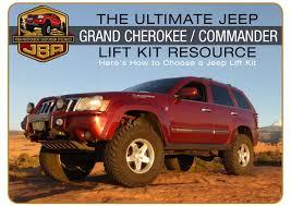 jeep commander lifted jba u0027s ultimate wk xk lift kit resource by jba offroad issuu