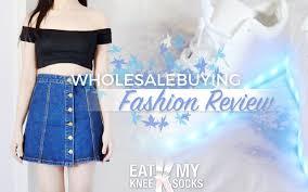 wholesalebuying fashion review black crop top led light up