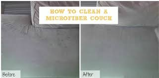 how to clean microfiber home remedies