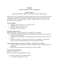 Human Resources Resume Objective Examples by Software Developer Objective Doc 550792 Mechanical Engineer Resume
