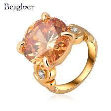 aliexpress buy beagloer new arrival ring gold beagloer small austrian ring simple new rings