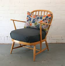 Ercol Armchair Cushions Image Of Small Vintage Ercol Armchair Pair Available Bespoke