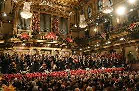beautiful pictures from the traditional new year s day concert in