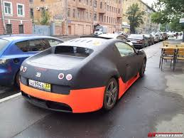 bugatti veyron supersport bugatti veyron super sport replica spotted in russia