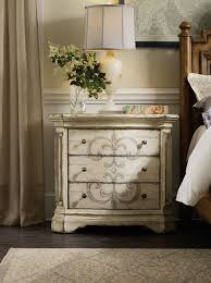 hooker furniture bedroom auberose nightstand antique white