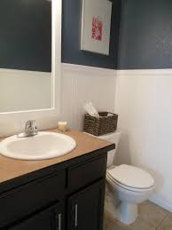 studio bathroom ideas small half bathroom tile ideas featuring gray ceramic wall and