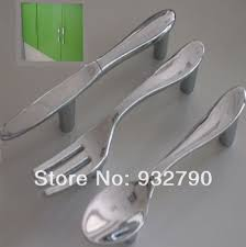 online get cheap fork handles aliexpress com alibaba group creative spoon knife fork kitchen cabinet lockers closet drawer handle handles pulls knob 76mm home