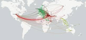 Geo Mapping Network Visualization Of Global Refugee Flows Gdelt Blog