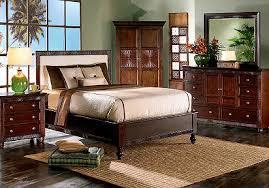 cindy crawford bedroom set cindy crawford home malibu dark panel 7 pc queen bedroom