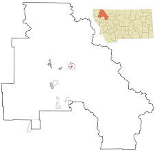 Montana City Map by Martin City Montana Wikipedia