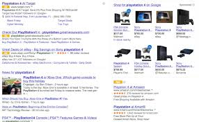 ebay black friday target google u0027s yellow ads label now showing on desktop searches
