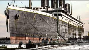 coloring pictures of a color story of the rms titanic youtube